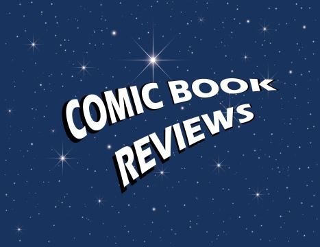 COMIC BOOK REVIEWS PAGE LOGO