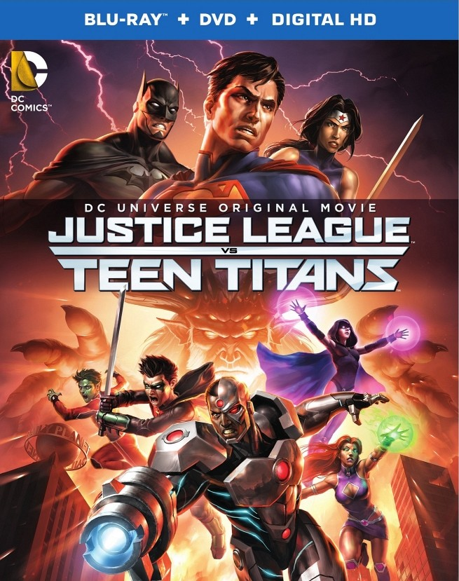 justice-league-vs-teen-titans-blu-ray-poster