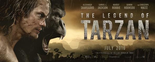 The Legend of Tarzan Poster 1