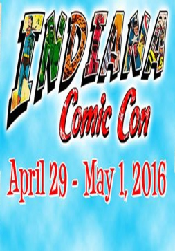 Indiana Comic Con Poster