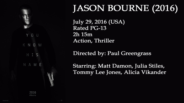 Jason Bourne Movie Ad