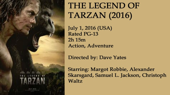 Legend of Tarzan Movie Ad
