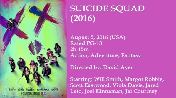 Suicide Squad Movie Ad