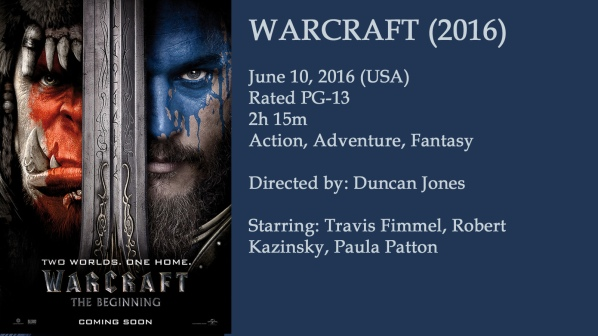Warcraft Movie Ad
