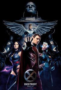X-MEN APOCALYPSE POSTER 2